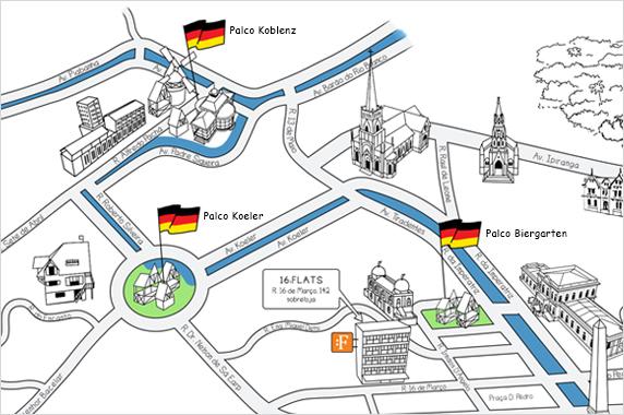 mapa bauernfest 2017