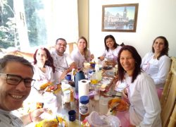 Giselle Gil e amigos no F008 Breakfast 19-23jun19